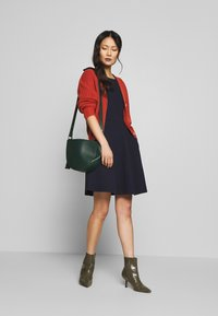 Esprit - SOLID DRESS - Day dress - navy - 1