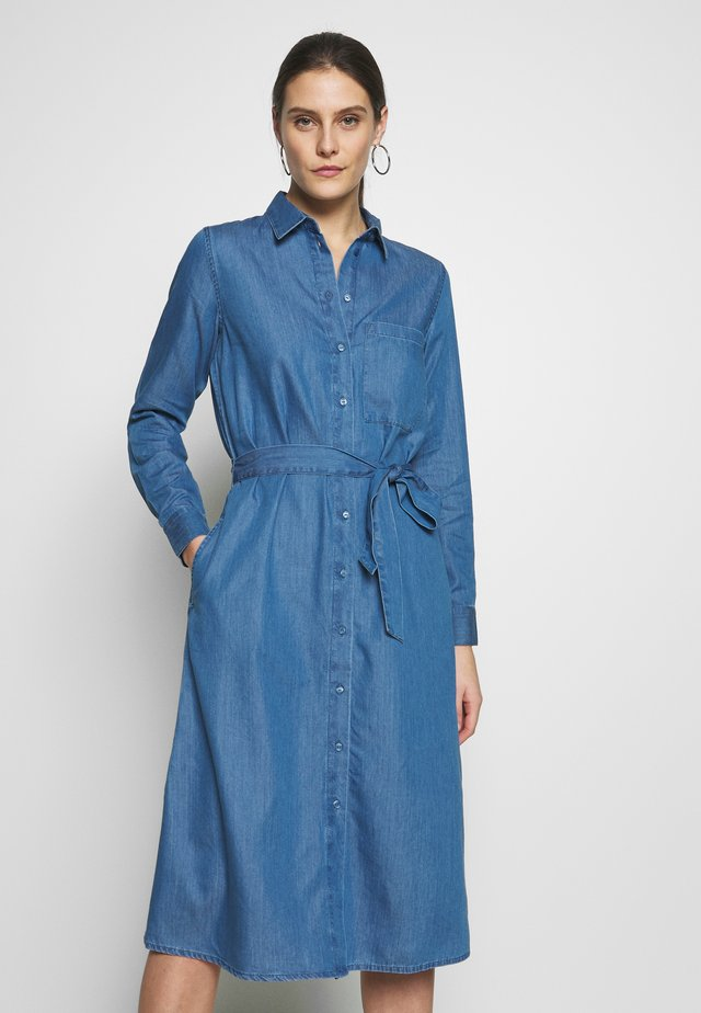 DRESS - Sukienka jeansowa - blue medium wash