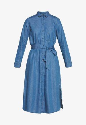DRESS - Sukienka jeansowa - blue medium wash