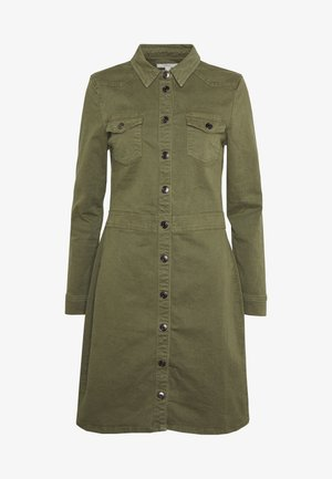 UTILITY DRESS - Robe en jean - khaki green
