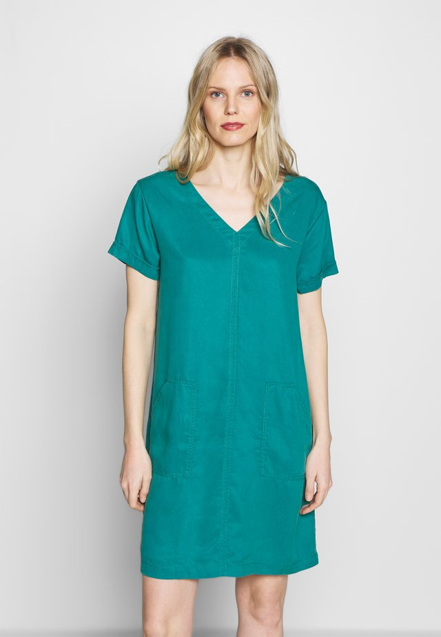 Vestido informal - teal green