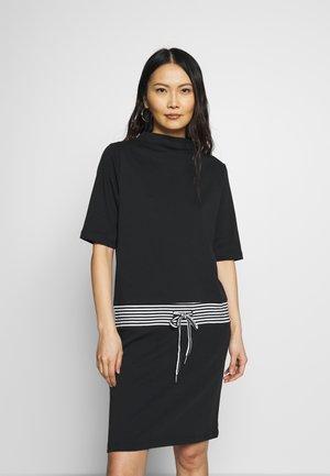 RETRO DRESS - Denní šaty - black