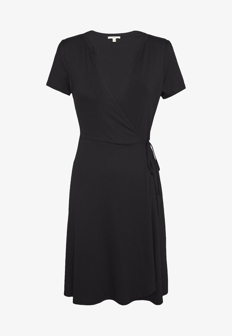 Esprit - SOLID DRESS - Jerseyklänning - black
