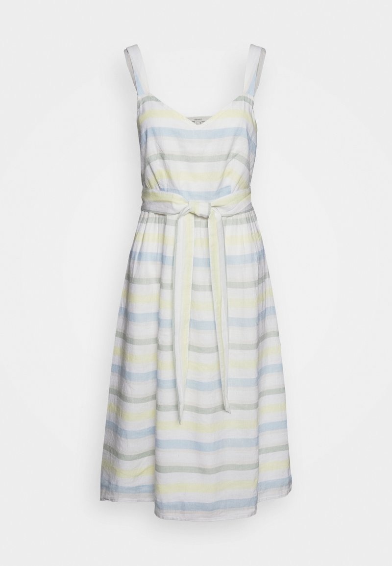 Esprit - STRIPE - Sukienka letnia - off white