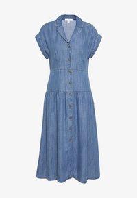 Esprit - DRESS - Sukienka jeansowa - blue medium wash - 0