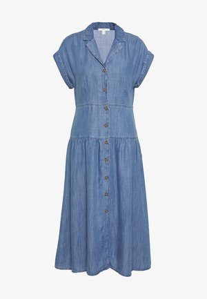 DRESS - Denim dress - blue medium wash