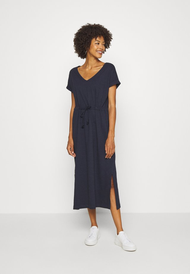 KAFTAN DRESS - Vestido informal - navy