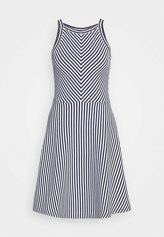 Pletené šaty - navy