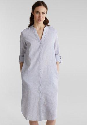 AUS LEINEN-MIX: HEMDBLUSEN-KLEID - Robe d'été - light blue