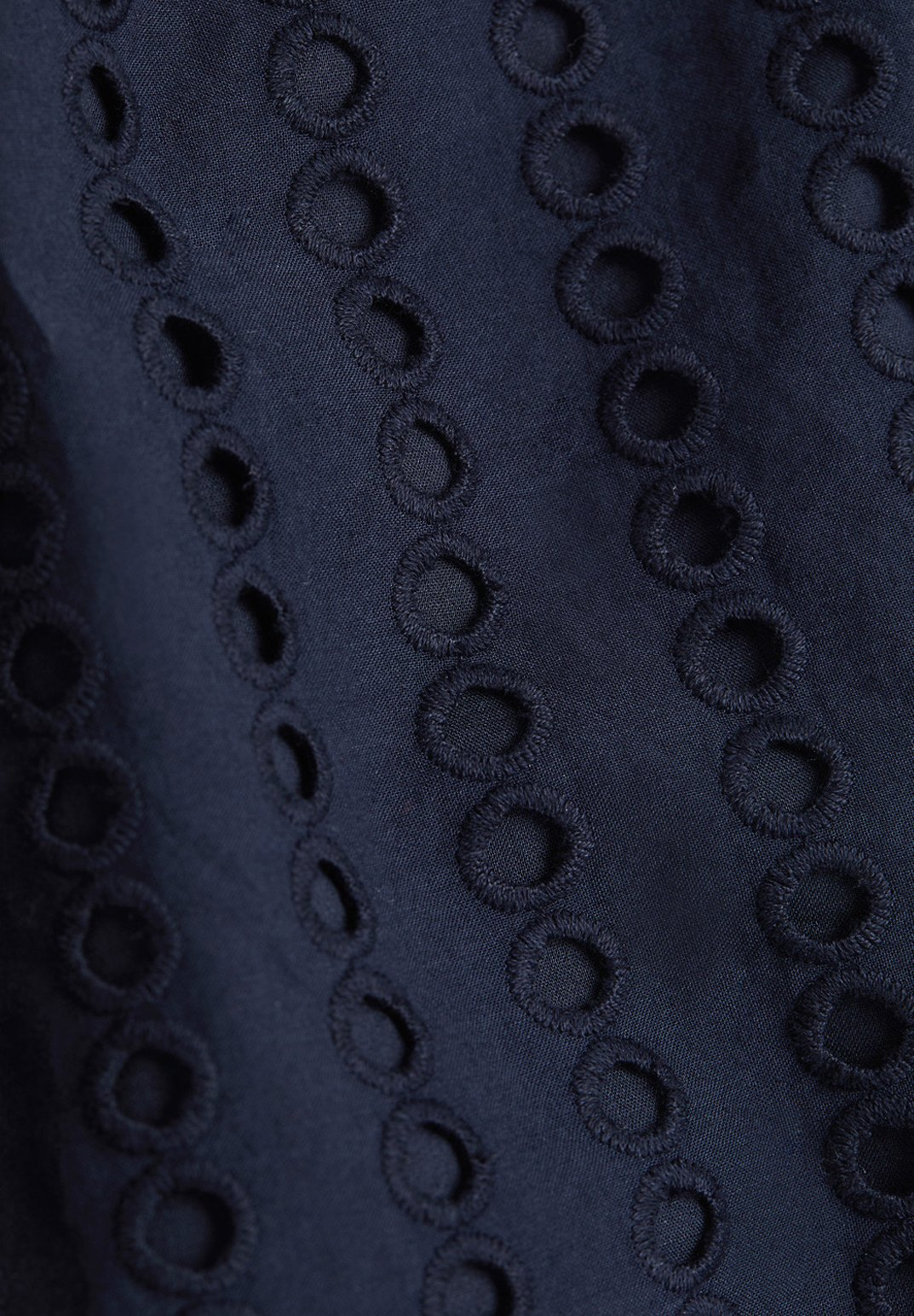 Esprit MIT LOCHSTICKEREI, 100% BAUMWOLLE Robe d'été navy
