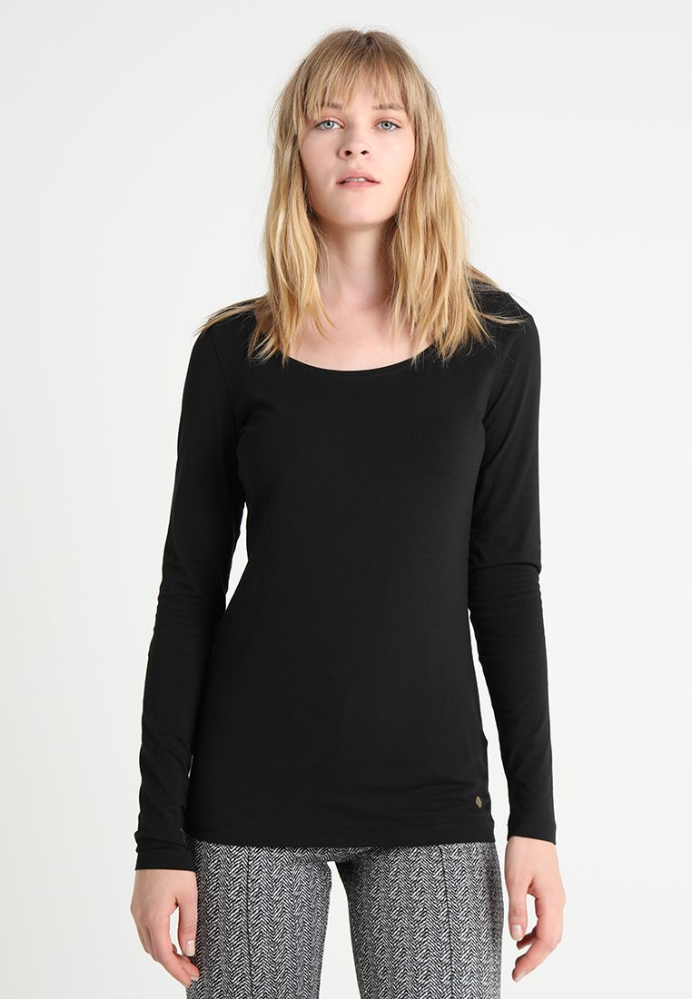 Esprit - Top sdlouhým rukávem - black