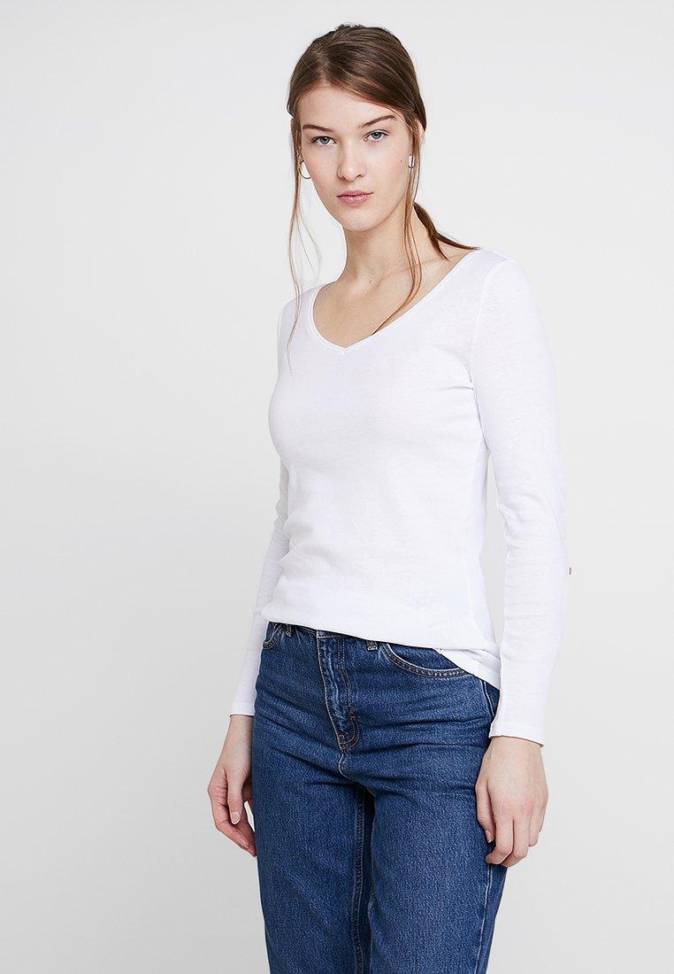 Esprit - LOOP - Long sleeved top - white