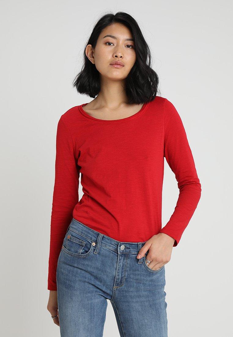 Esprit - Maglietta a manica lunga - dark red