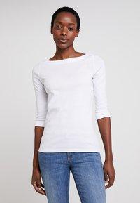 Esprit - T-shirt à manches longues - white - 0