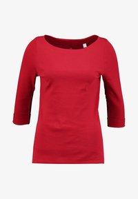 Esprit - Bluzka z długim rękawem - dark red - 4