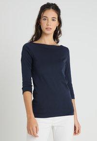 Esprit - T-shirt à manches longues - navy - 0