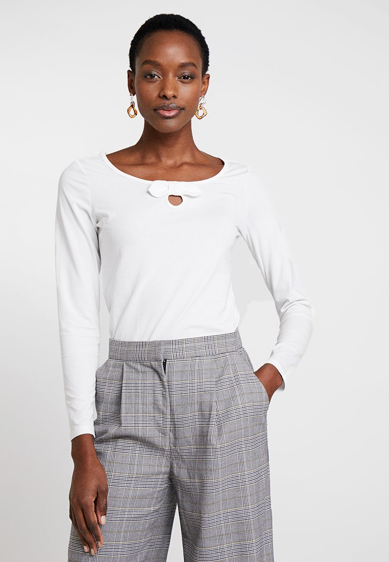 Esprit - BOW - Long sleeved top - offwhite