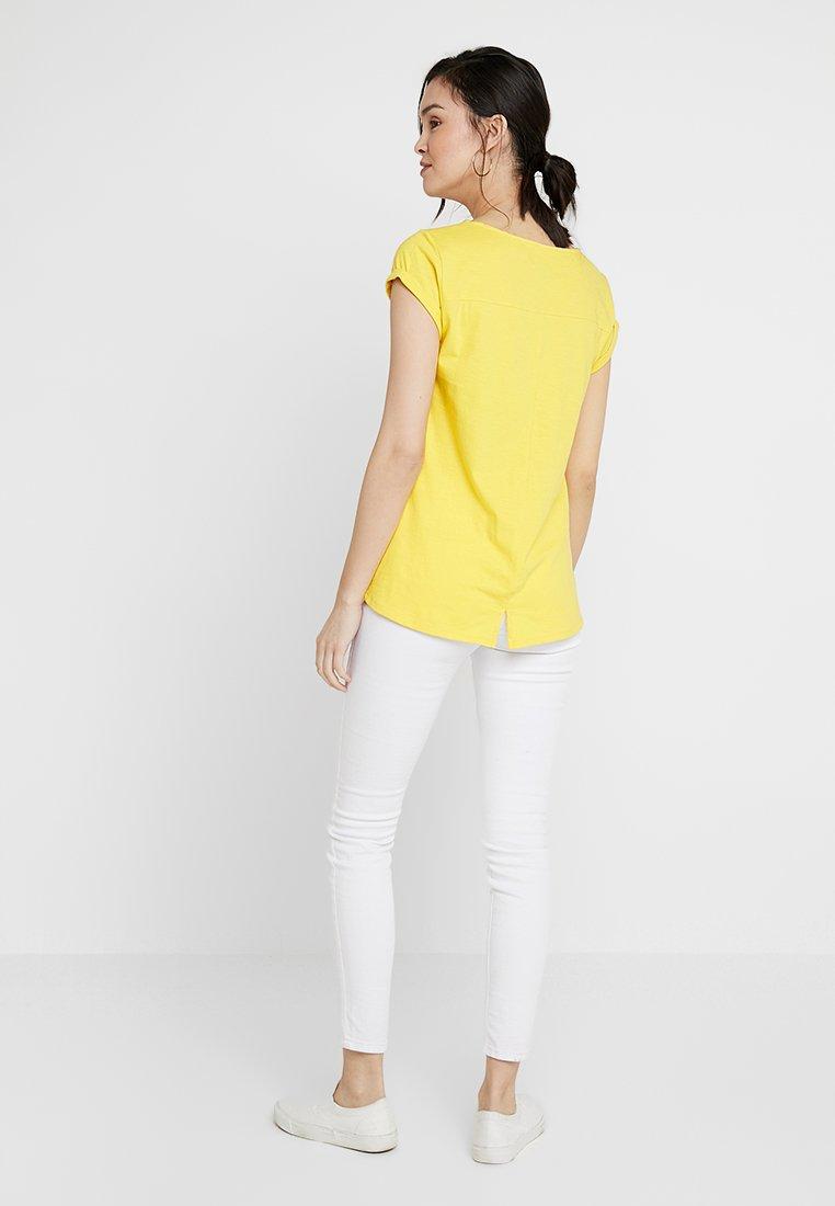 Basic Yellow shirt Esprit TeeT ymnwNOv80