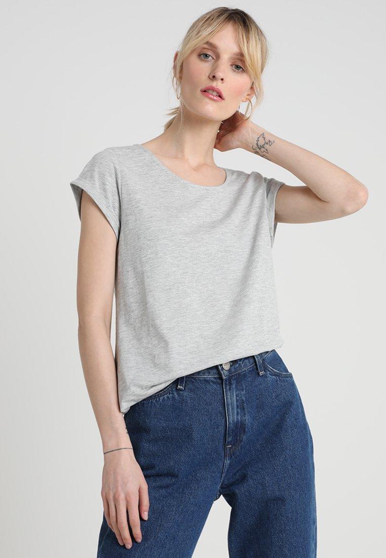 Esprit - Print T-shirt - light grey