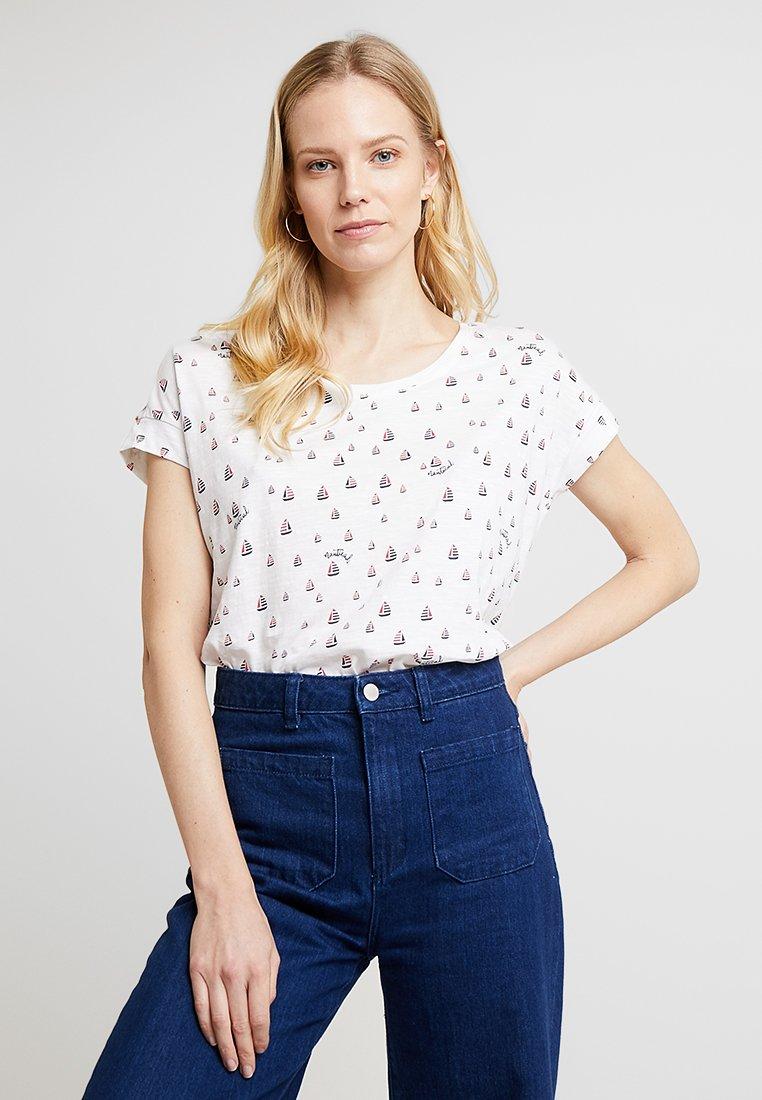 Esprit - TEE - Print T-shirt - white