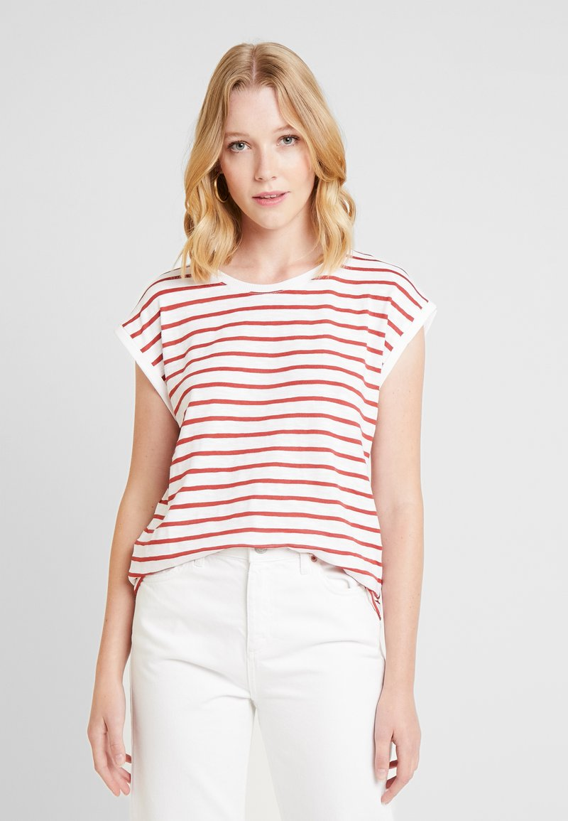 Esprit - Print T-shirt - dark red