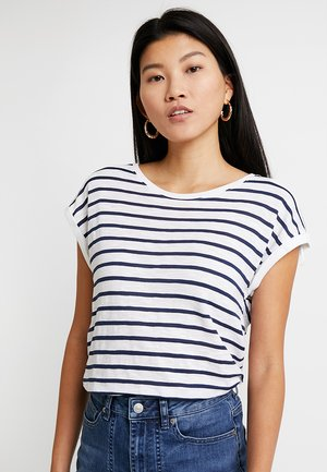 Print T-shirt - navy