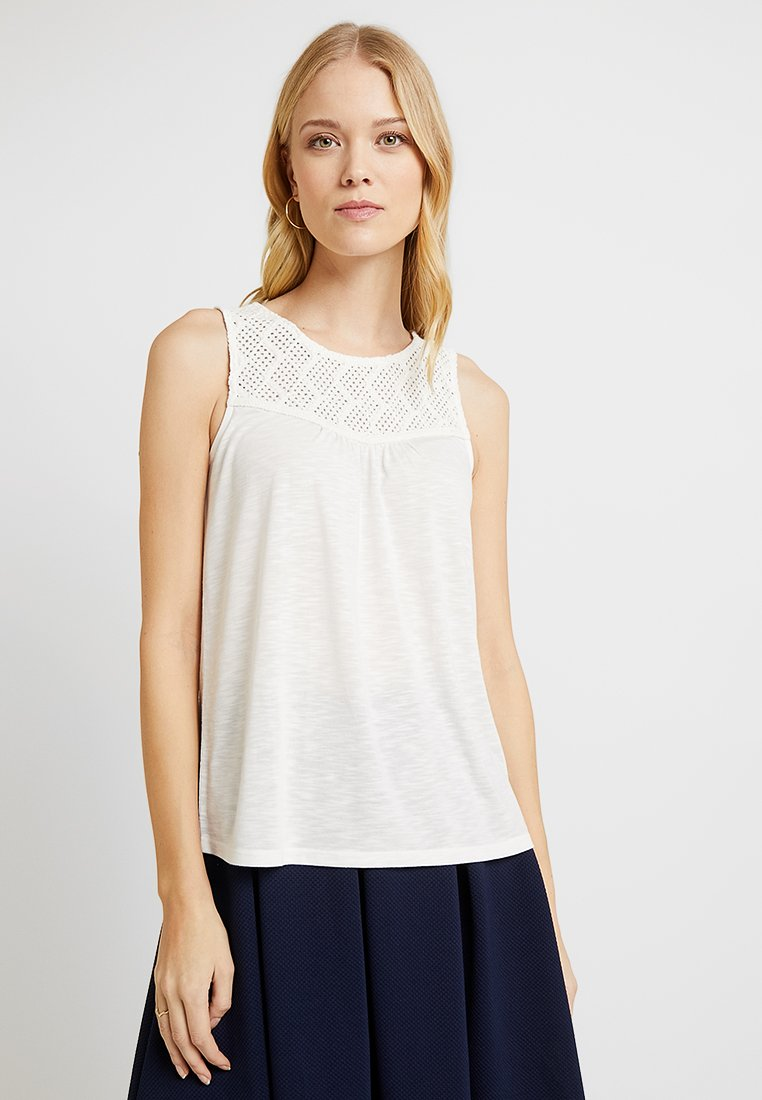 Esprit - CROCHET - Toppe - off white