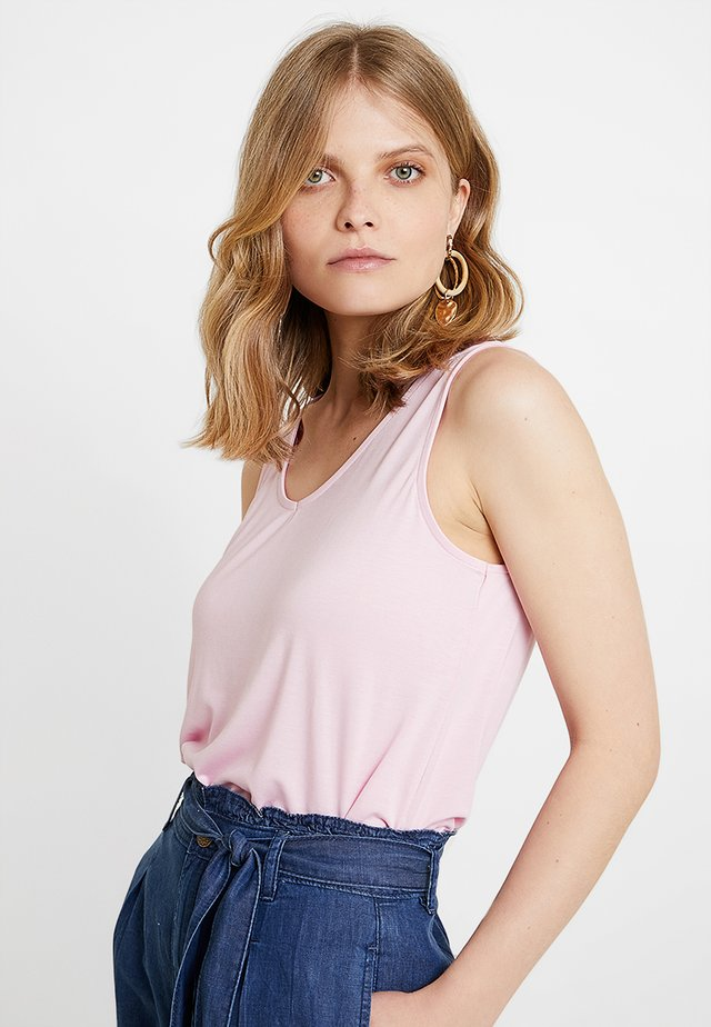 TWISTED BACK - Top - pastel pink