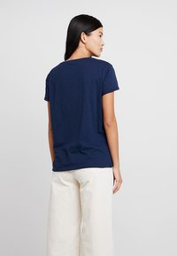 Esprit - ADD TEE - T-shirt med print - navy