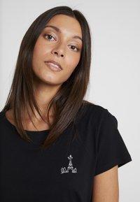 Esprit - FASHION TEE - T-shirt z nadrukiem - black - 3