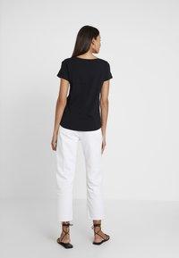 Esprit - FASHION TEE - T-shirt z nadrukiem - black - 2
