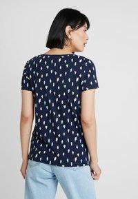 Esprit - COLOR TEE - T-shirt imprimé - navy - 2