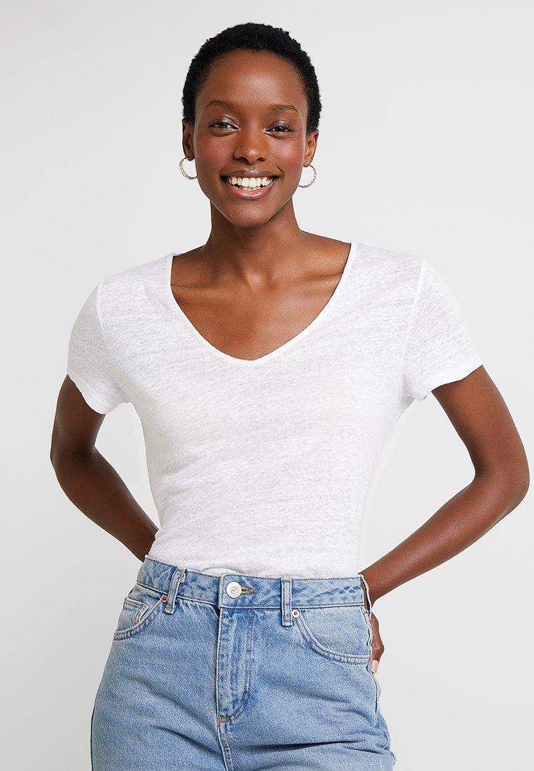 Esprit - BOW - T-shirt imprimé - white
