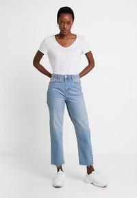 Esprit - BOW - T-shirt imprimé - white - 1