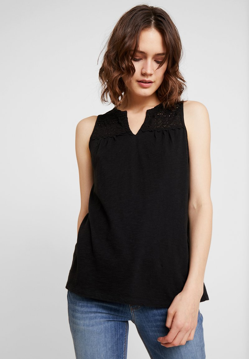 Esprit - CROCHET - Topper - black
