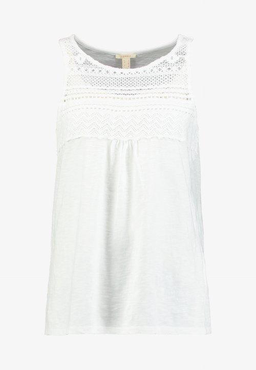 Esprit Top - white Koszulki i Topy XAHR-SS2 szyk