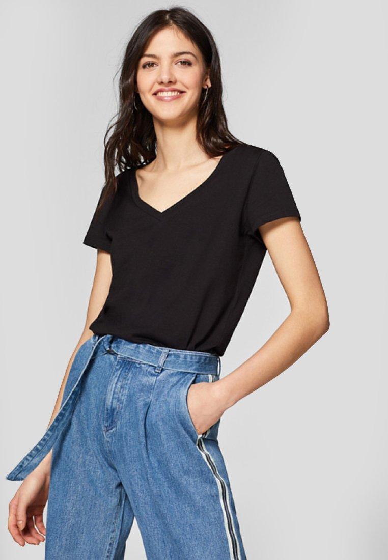 Esprit - 2 PACK - T-shirt basique - black