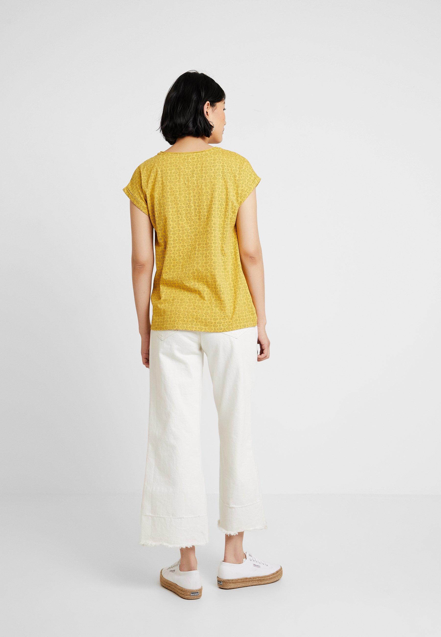 Brass Yellow shirt Stampa Pattern Con TeeT Esprit 3AR4q5jL