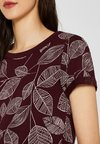 Esprit - T-Shirt print - bordeaux red