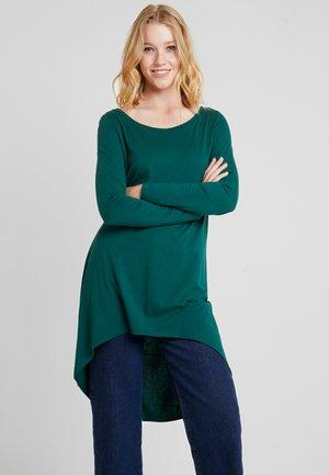 FLOW - Long sleeved top - bottle green