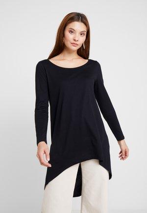 FLOW - Long sleeved top - black