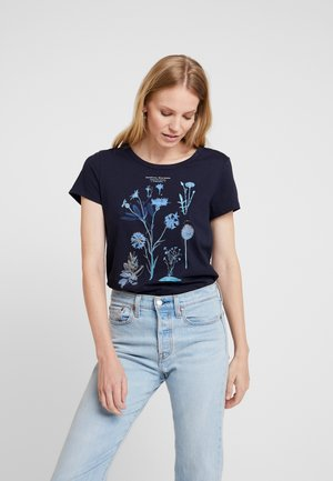 CORE GRAPHIC - T-shirt med print - navy