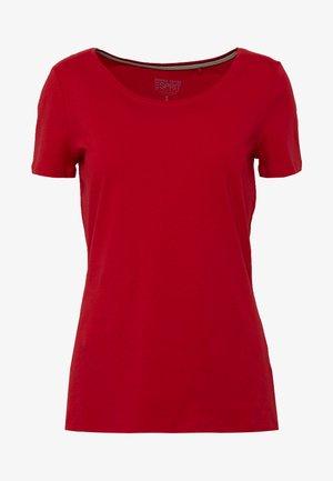CORE  - T-shirts - dark red