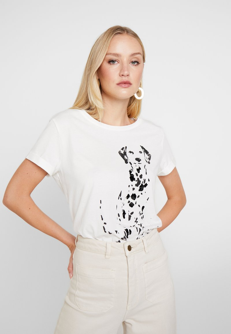Esprit - CORE - T-shirt print - off white