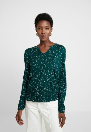 CORE - Langærmede T-shirts - dark teal green