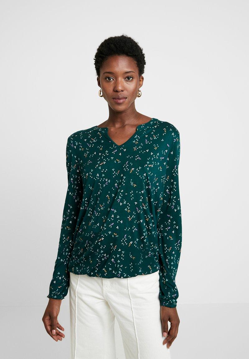 Esprit - CORE - Långärmad tröja - dark teal green