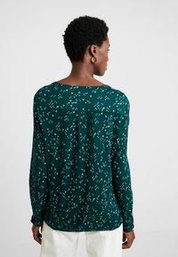 Esprit - CORE - Långärmad tröja - dark teal green - 2