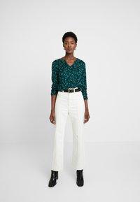 Esprit - CORE - Långärmad tröja - dark teal green - 1
