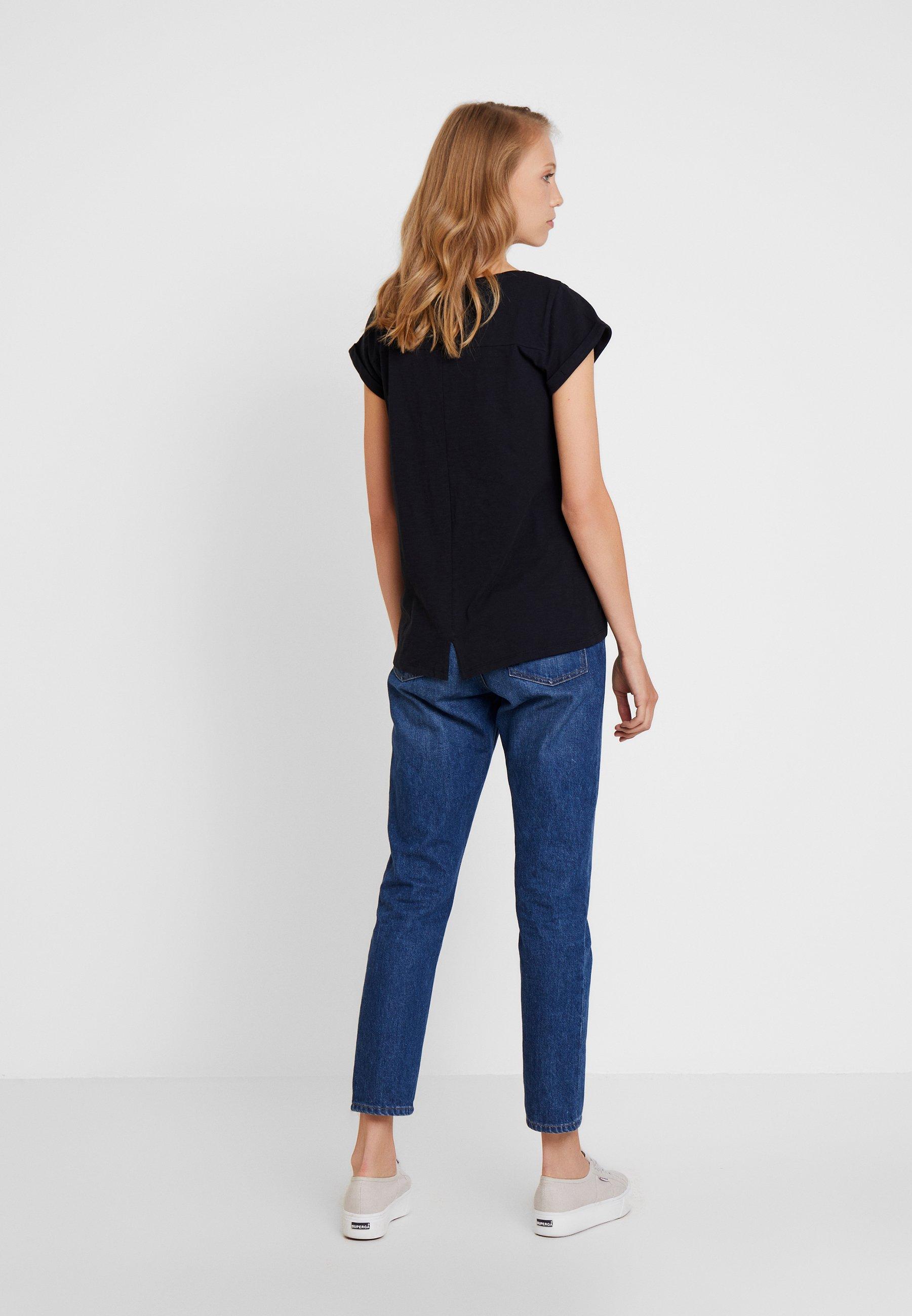 Esprit LibellT Basique shirt Logo Black yf76Ybgv