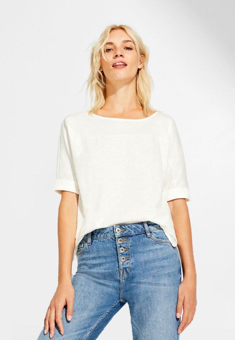 T White T shirt Esprit BasiqueOff Esprit White BasiqueOff shirt EHYeDI9W2